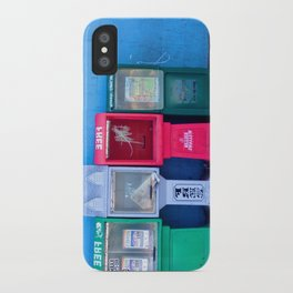 In a Row iPhone Case