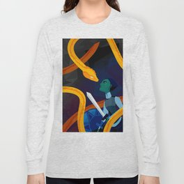 Facing the Serpent Long Sleeve T-shirt