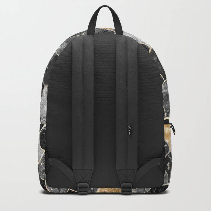 REALLY MERMAID BLACK GOLD Backpack