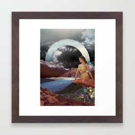 Summer's Coming Framed Art Print