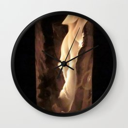 Fire from Ice - FredPereiraStudios.com_Page_35 Wall Clock