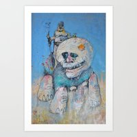 the who Art Prints featuring who by Jumper
