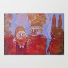 Hlebine Canvas Print