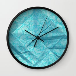 Failed Origami Project Wall Clock