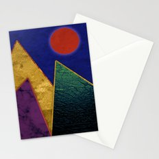 Abstract #424 Stationery Cards
