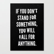 Stand Canvas Print