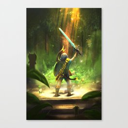 The Master Sword Canvas Print