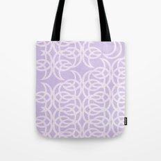 Purple Lunar Tote Bag