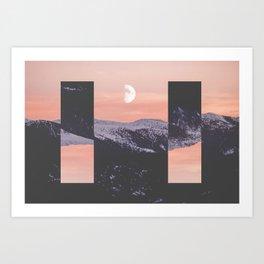 Side to Side Art Print