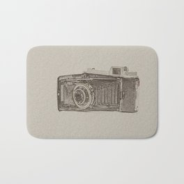 Old Camera Bath Mat