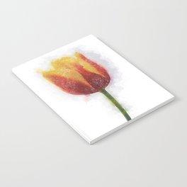 Tulip Painting Notebook