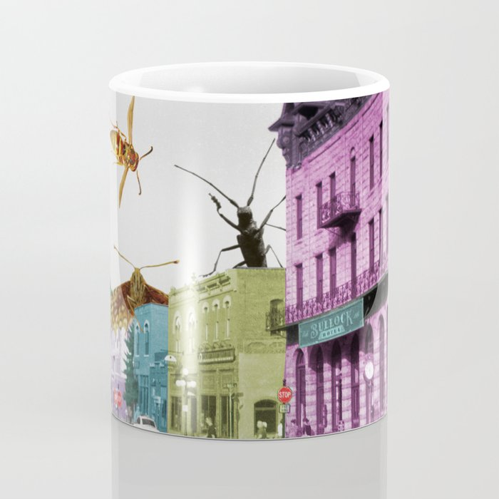 Insect Attack Coffee Mug