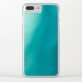 The colors of the deep ocean Clear iPhone Case