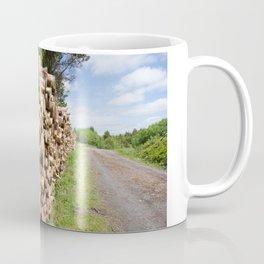 The wood stack Coffee Mug