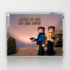 ...Where no man has gone bofore Laptop & iPad Skin