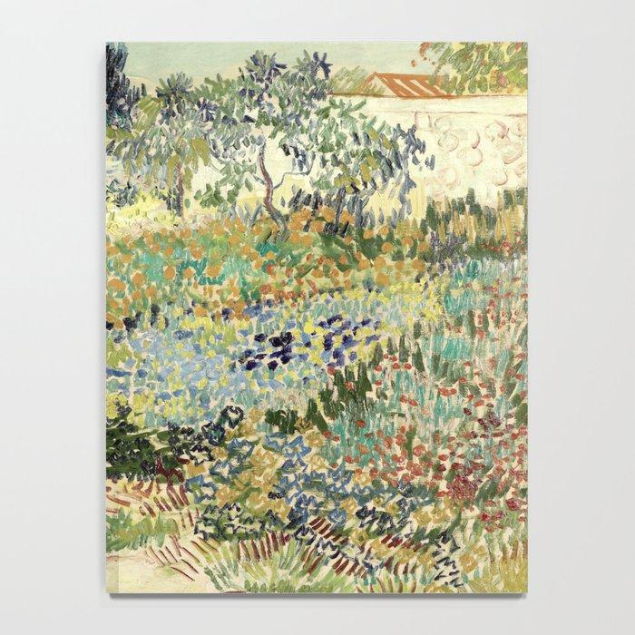 Vincent Van Gogh : Garden at Arles Notebook