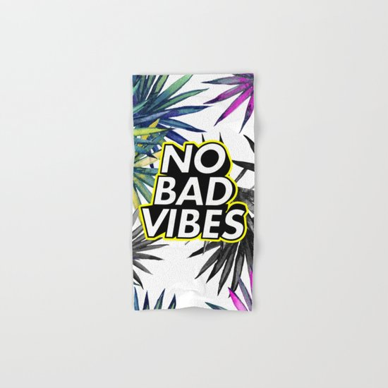 Good Vibes Only Hand & Bath Towel