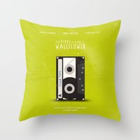 the perks of being a wallflower Throw Pillows featuring The Perks of Being A Wallflower (Vintage) by Lemontrend Studio