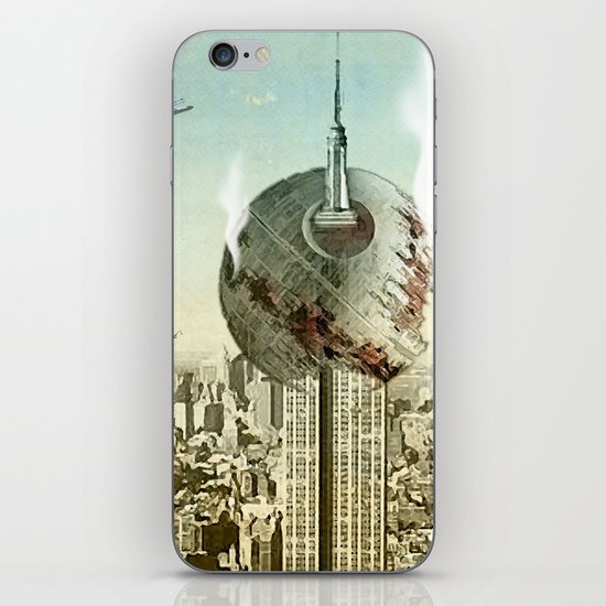 impaled on the empire iPhone & iPod Skin