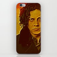 jack white iPhone & iPod Skins featuring Jack White by yahtz designs