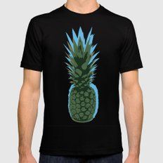 Fineapple. Black Mens Fitted Tee SMALL