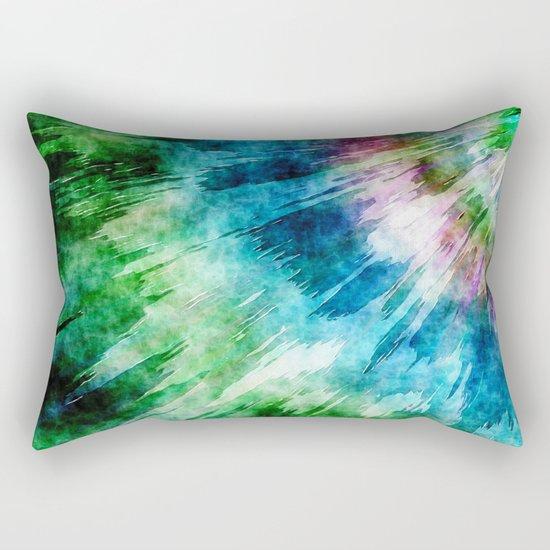 Abstract Grunge Tie Dye Rectangular Pillow