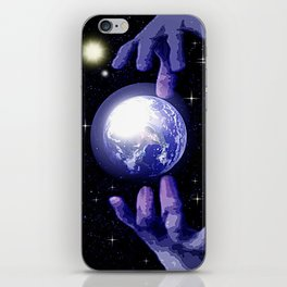 In good hands. iPhone Skin