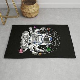 Psychedelic Astronaut Psychonaut  Rug