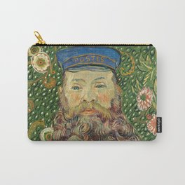 Portrait of the Postman Joseph Roulin by Vincent van Gogh Carry-All Pouch