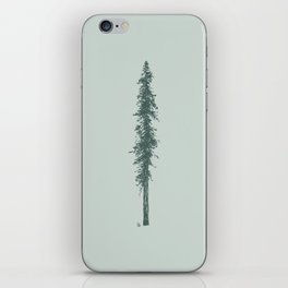 Love in the forest - sage iPhone Skin