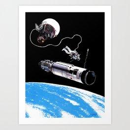 Gemini 10 Art Print