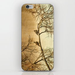 Out On A Limb iPhone Skin