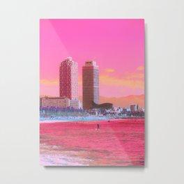 Avell Beach Metal Print