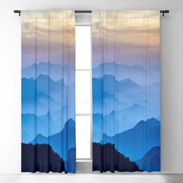 Mountains 11 Blackout Curtain