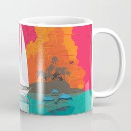 Sailing to Delos Coffee Mug
