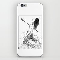 apollonia iPhone & iPod Skins featuring asc 156 - La flèche noire by From Apollonia with Love