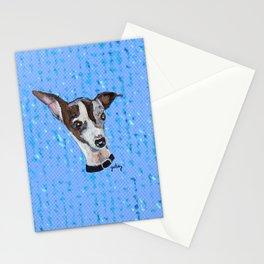 Mia the Italian Greyhound Stationery Cards