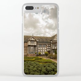 Cloudy Spring Day in an Old English Yard Clear iPhone Case
