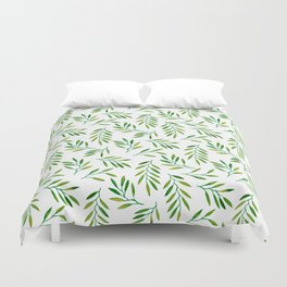 Willow -Green Duvet Cover