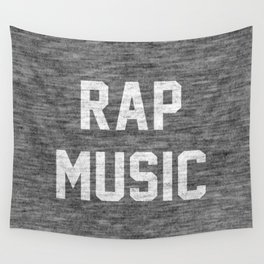 Rap Music Wall Tapestry