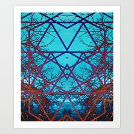 Neurons Art Print