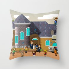 Super Arrested Development  Throw Pillow