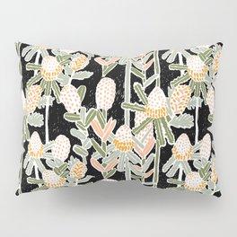 Red Honeysuckle & Mountain Banksias  Pillow Sham