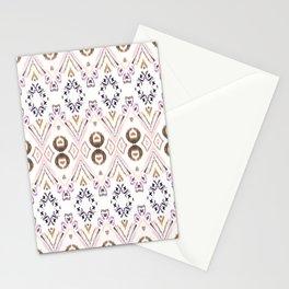 Ikat Java Rose Stationery Cards