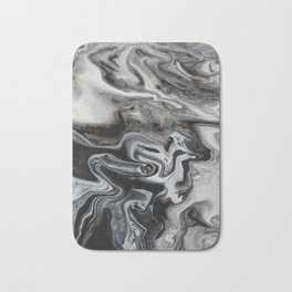 Marble Swirl Bath Mat