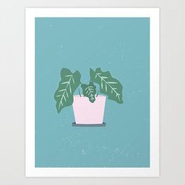 Grow Where Your Planted Art Print