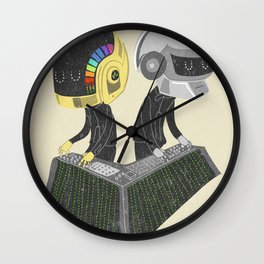 DaftPunk Wall Clock