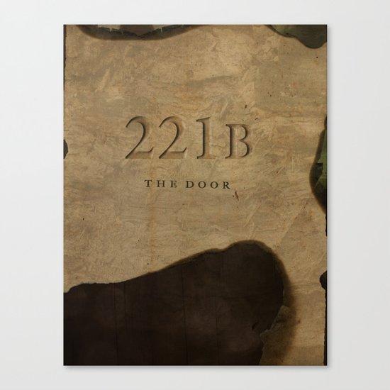 No. 6. 221B Canvas Print