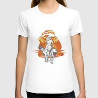dinosaurs T-shirts featuring Dinosaurs Girl by Forlife Illustration