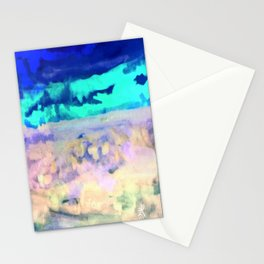 Icey Night Stationery Cards